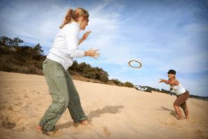 aerobie pro ring frisbee met gat