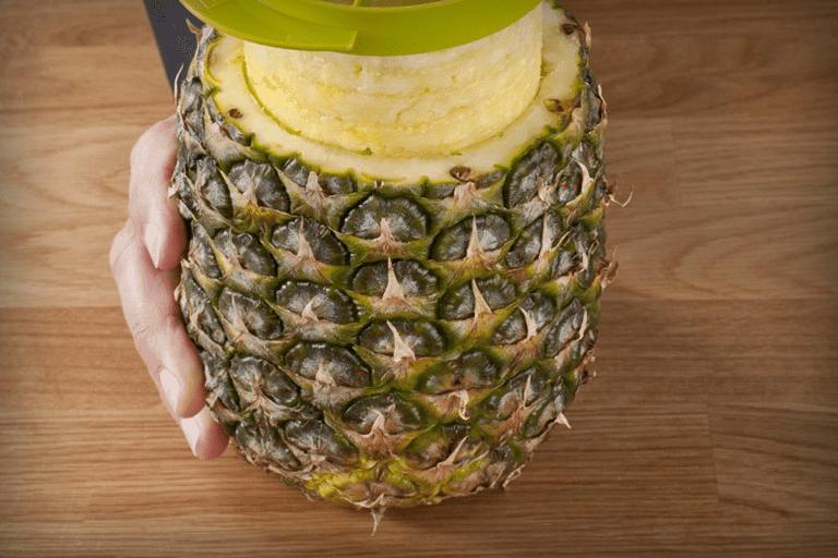 ananas schillen
