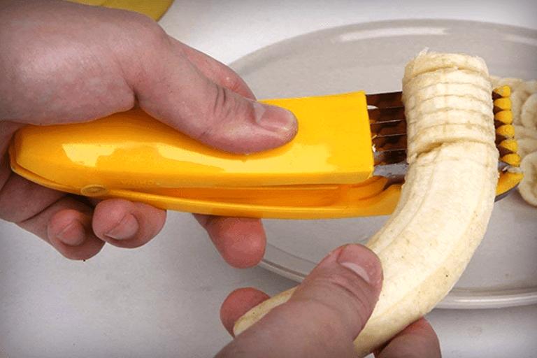 banaan snijden