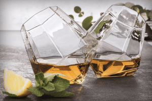 diamant whiskyglas
