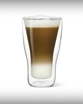 dubbelwandige glazen latte macchiato