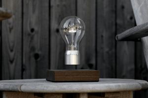 zwevende lamp