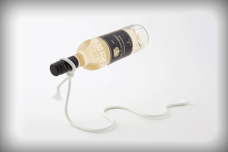 magische wijnhouder touw