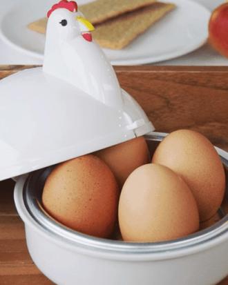 magnetron eierkoker kip