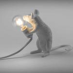 Speelse Muis Lamp