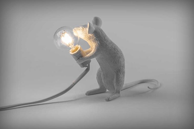 muis lamp