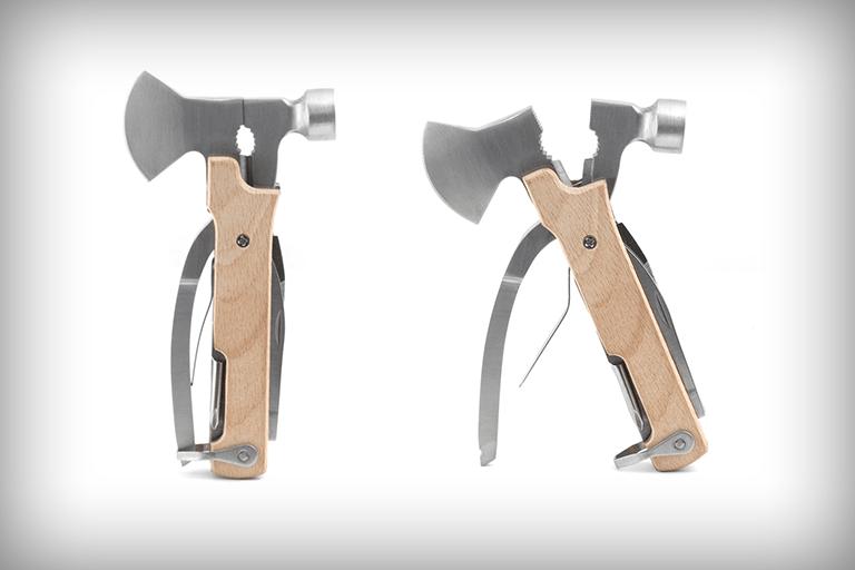 multi tool met bijl