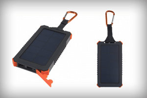 powerbank op zonne energie