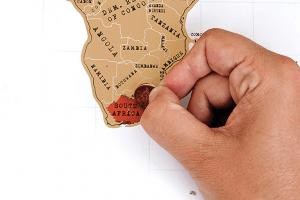 scratch map wereldkaart