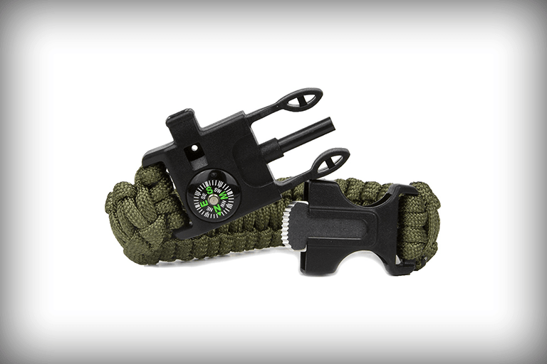 survival paracord armband