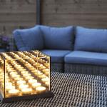 Waxinelichthouder Spiegelglas