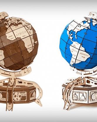 wereldbol puzzel 3d