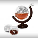 Elegante Whiskey Globe
