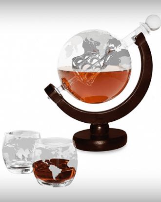 whiskey globe