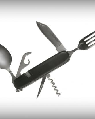zakmes met lepel en vork