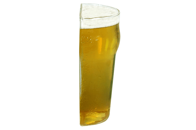 half bierglas