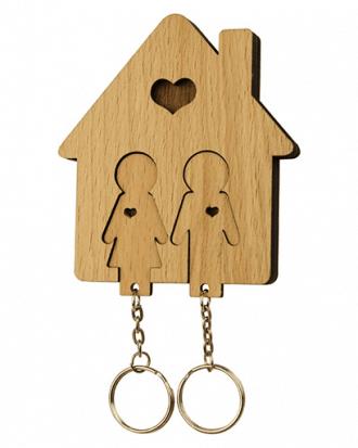 romantische sleutelhouder