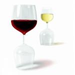 Omkeerbaar Wijnglas
