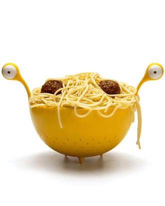 spaghetti monster vergiet