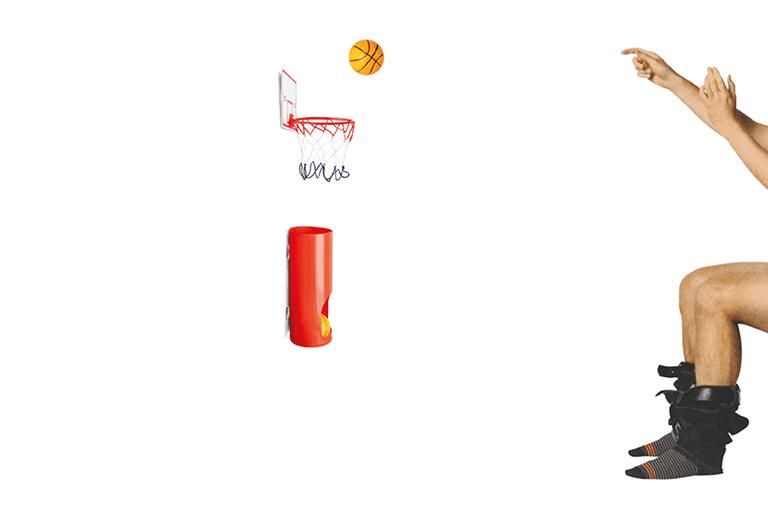 toilet basketbal