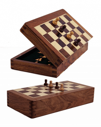 magnetisch reis schaakspel