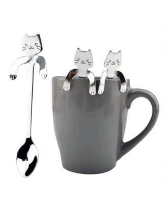 katten theelepel