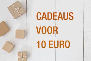 cadeau onder 10 euro