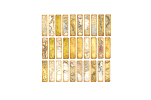 wereldkaart boekenlegger