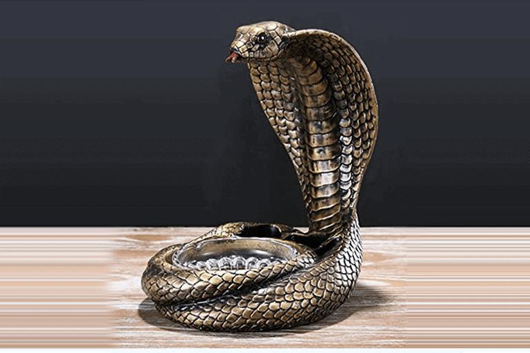 slangen asbak
