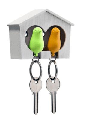 vogel sleutelhouder