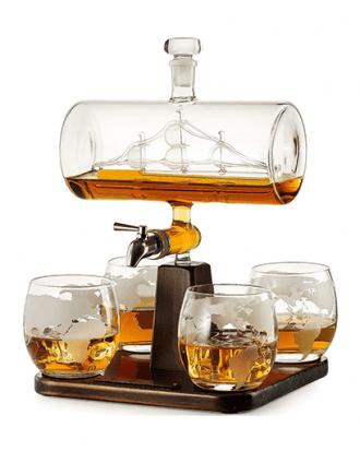 Schip Whiskey Karaf