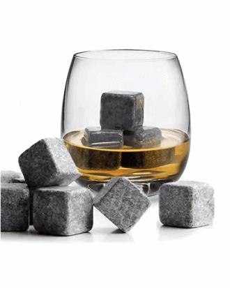 Piedras de whisky de piedra